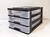 UI 9778 - A4 3 Drawers Storage Organiser